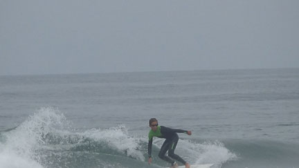 Darcy Grom Surfing Small