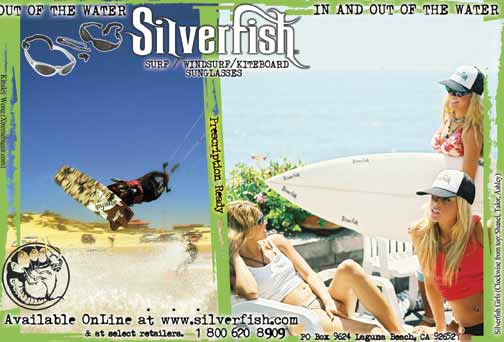 Silverfish ad with Kinsley Wong and Silverfish Girls