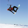 Paul Menta snow kiting
